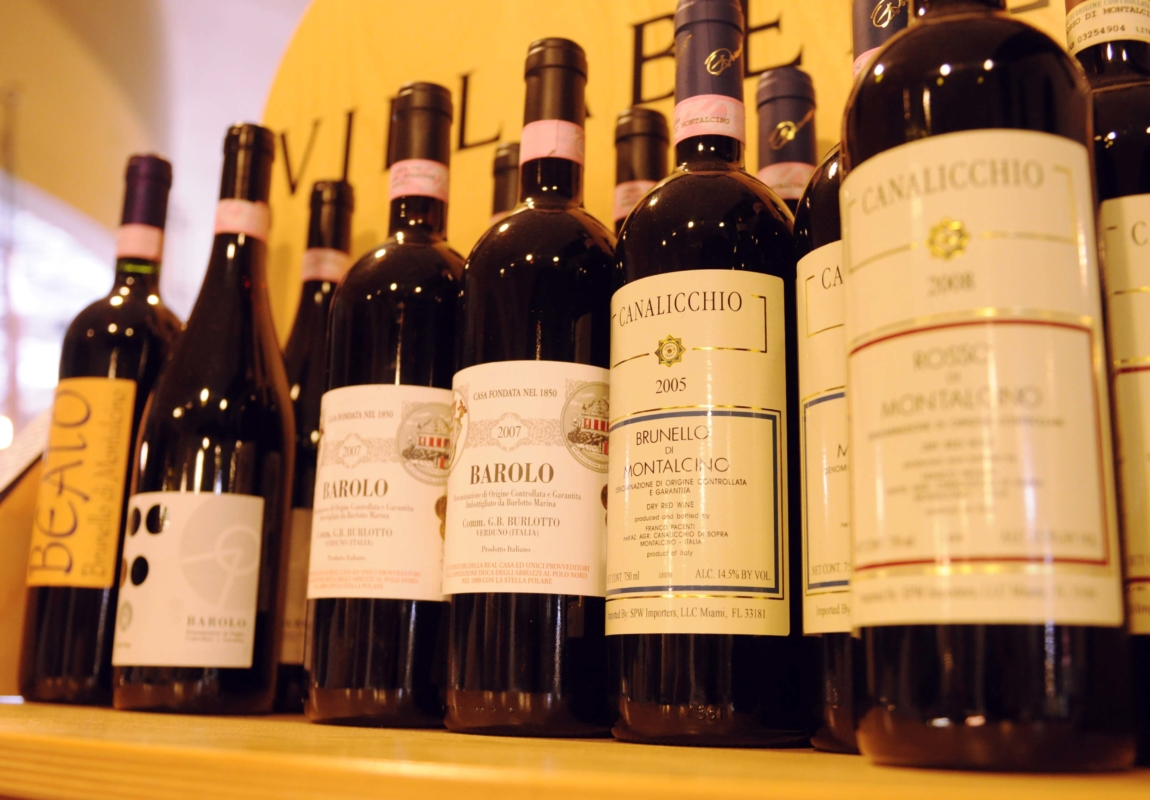 Fine Wines from our Gourmet Market